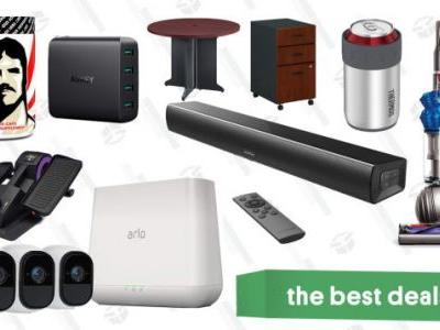 Monday's Best Deals: Refurbished Dyson Vacuums, Arlo Security Cameras, Office Furniture, and More