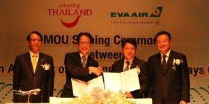 EVA Air and TAT sign MOU aimed at boosting North American tourism