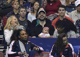 Serena Williams's Official Tennis Comeback Doubles as Baby Alexis's First Public Appearance