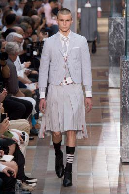 Men in Skirts: Thom Browne Unveils Spring '18 Collection
