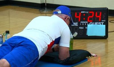 Minnetonka's Andy Steinfeldt, 71, Aims To Break World Planking Record