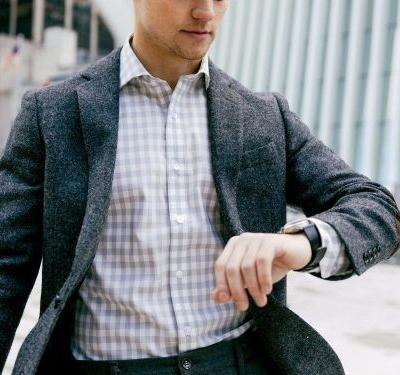 We tested these performance dress shirts that never wrinkle and feel like T-shirts - and they kept us from sweating at work
