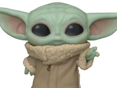 The Force Is Strong With This Baby Yoda Funko Pop! From THE MANDALORIAN