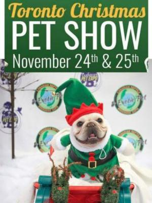 Toronto Christmas Pet Show Giveaway