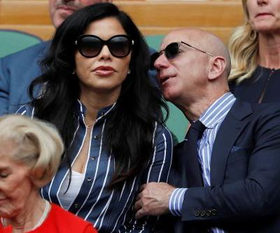 Jeff Bezos and Lauren Sanchez made their public debut at Wimbledon just days after Bezos' record-setting divorce was finalized
