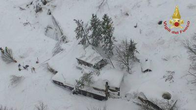 Avalanche Buries Italian Ski Resort; Rescue Operations Underway