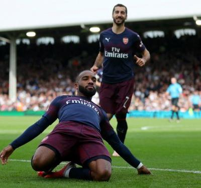 Fulham 1 Arsenal 5: Lacazette leads Gunners to ninth consecutive win