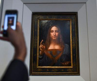 Da Vinci's 'male Mona Lisa' expected to sell for $100M