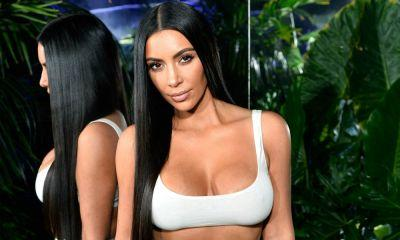 Kim Kardashian Gives Snatched a Whole New Meaning in Crop Top and Sheer Skirt!