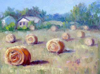 Farmer's Art, New Contemporary Landscape Painting by Sheri Jones