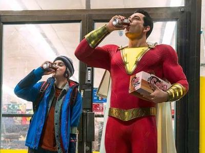 Zachary Levi's Costume Revealed in First Shazam! Photo