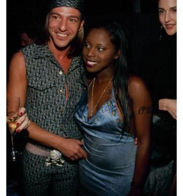 John Galliano and Foxy Brown, the 00s' Most Fabulous Muse