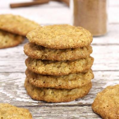 Chai Spiced Oatmeal Cookies