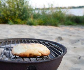 Calzone on the BBQ