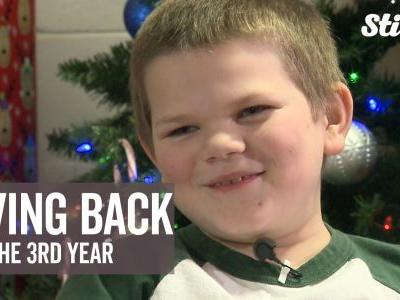 'I just try my best to be nice to people': Boy holds 3rd annual toy drive for children hospitalized over holidays