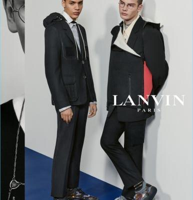 Lanvin Unveils Contemporary Tailoring for Fall '18 Campaign