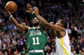 Brown, Irving help Celtics rally for 92-88 win over Warriors