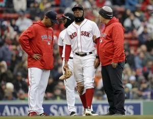 Boston's Xander Bogaerts hurts ankle against Rays