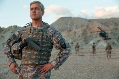 Would this $60 million Brad Pitt war comedy have been made without Netflix? It's hard to imagine