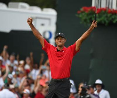 Tiger Woods wins Tour Championship by two shots for his first victory in five years