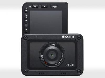 Sony RX0 II Action Camera Adds Internal 4K and a Tilting LCD
