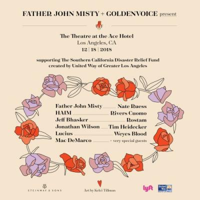 Father John Misty Hosting California Wildfires Benefit Concert With Haim, Mac DeMarco, & More