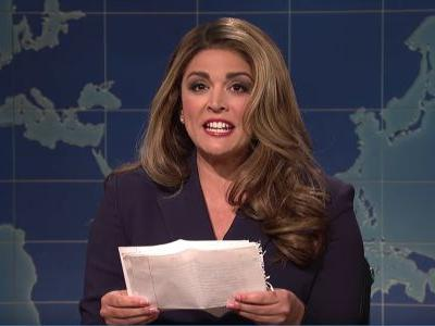 On this week's 'SNL,' Hope Hicks says goodbye, 'The Grabbies' award sexual misconduct, and Trump says he could run into North Korea without a gun