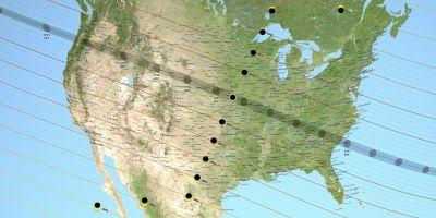 These states will have the best views of the solar eclipse