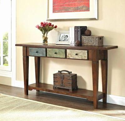 50 Beautiful Rustic Console Table with Drawers Graphics