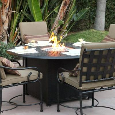 49 Elegant Dining Table with Fire Pit Graphics