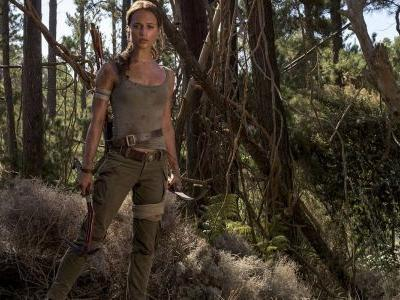 Lara Croft is a Dangerous Woman in Tomb Raider TV Spot