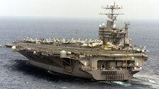 U.S. Deploys Aircraft Carrier And Bombers To Send 'Unmistakable Message' To Iran