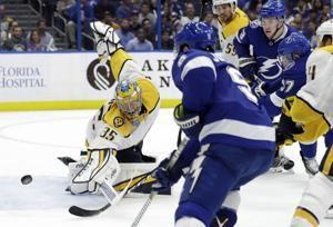 Predators sign goalie Rinne to 2-year, $10 million extension