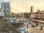 Before-and-after pictures show how much Victorian England has changed, from Newcastle to London