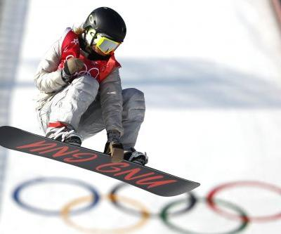Jamie Anderson wins silver for US in women's Big Air event
