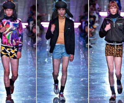 Men are wearing miniskirts now