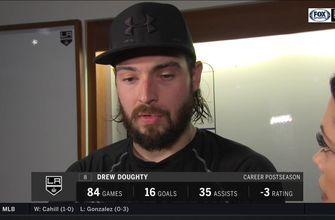 Drew Doughty: Golden Knights 'deserved to beat us'