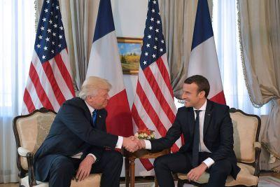 Donald Trump and Emmanuel Macron Will Awkwardly Meet Again For Bastille Day