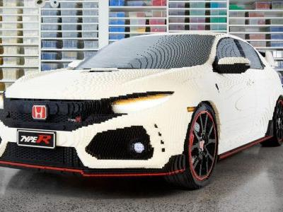 Here's A Full-Size Honda Civic Type R Made Of Lego