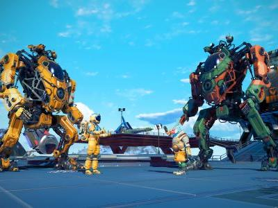 No Man's Sky Gets Massive Mechs in Free Update