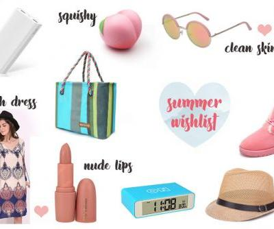 Summer Vacation Wishlist | I ♥ Summer