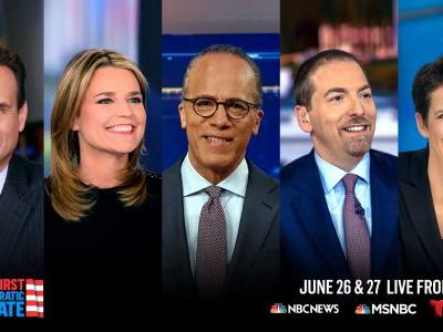 NBC News Announces Moderators for First Dem Presidential Primary Debate