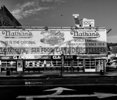 Reflecting on Old Photographs: Nathan's Famous Since 1916