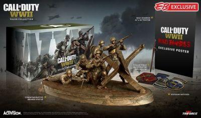 Call of Duty: WWII Valor Collection Contents Revealed, Comes With a Bronze Statue