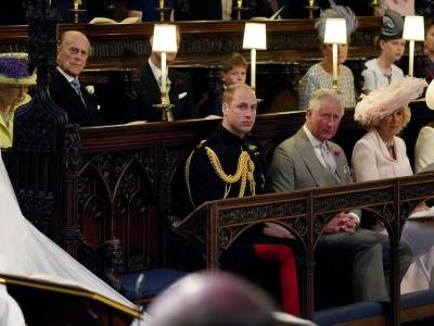 Prince William left a seat next to him empty at the royal wedding - but the reason why isn't what you think