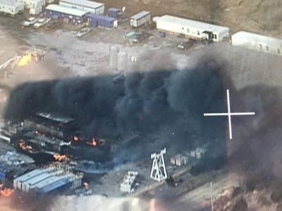 Five missing after gas well explosion in Oklahoma