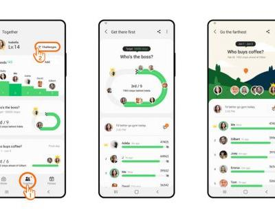 Samsung Health brings Group Challenge to get you more fit for 2021