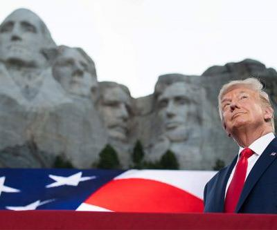 Trump blasts 'left-wing cultural revolution' in fiery Mount Rushmore speech