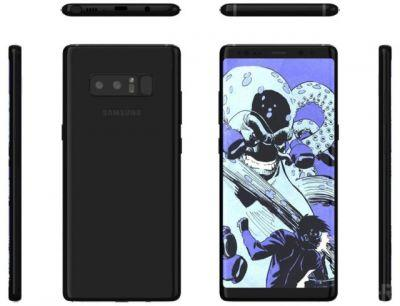 Alleged Samsung Galaxy Note 8 Renders Pop Up Online