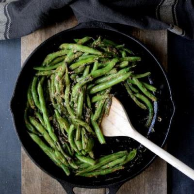 Green Beans w/ Goat Cheese Butter